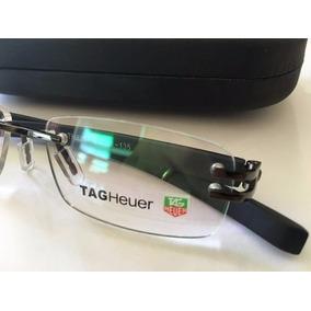 Óculos Tag Heuer Tag 5069 Armação De Grau Amarela Com Prata ... ce44499d11