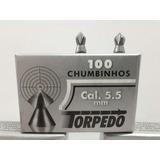 Chumbinho 5.5 Torpedo Bolt Parafuso Perfuração Destruição