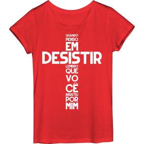 843f8ebc5 Camiseta Evangelica Cristã Camiseta Masculina E Femininamdm ...