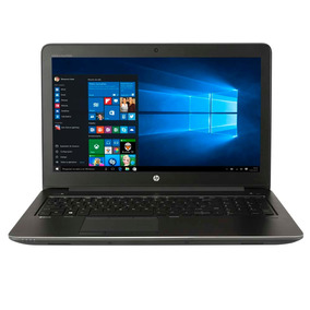 Notebook Hp Zbook G3 proc I7 8g Ssd 256gb 15.6