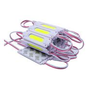 Modulo Led 7020 Cob 1 Chip 180 Lm Blanco Frio 12v Exterior Ultra Brillo Pack 10