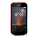 Telefono Celular Nokia 1 Rojo - Android Oreo