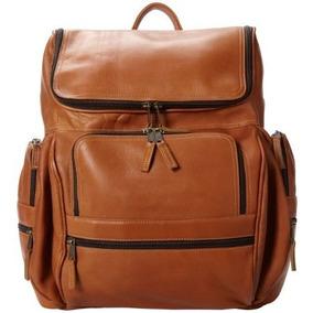 Morral Ico Cueros Explorador Laptop Backpack Natural, Un Ta