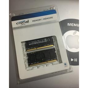 Memoria Ram Para Mac Crucial 8gb (4gbx2) Ddr3l Pc3l-12800