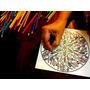 Set Mandalas Y Dibujos X 10 En Madera Para Pintar Antiestrés