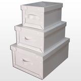 Caja Carton Blanca Grande 48x36x22 Envio C/s Ver.