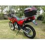 Funda Cubre Moto Premium L- Baul Cuerina + Felpa