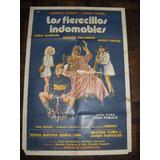Afiche Cine Argenti Los Fierecillos Indomables Olmedo Porcel