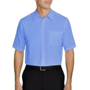 Camisa Social Manga Curta - Microfibra