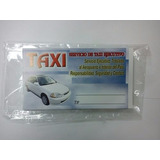 Tarjeta De Presentacion Full Color Generica Para Linea Taxi