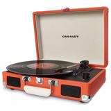 Tocadiscos Crosley Cruiser Naranja (¡más Colores Y Diseños!)