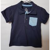 b911a98327 Camiseta Polo Marinho Bebê Tam G Hg 5399