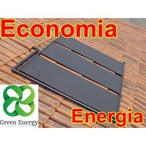 Kit 6 Placa Coletor Solar Aquecedor Painel Economia Energia