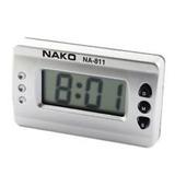 Reloj Digital Cronometro Auto Casa Moto Nako Pila Incluida$
