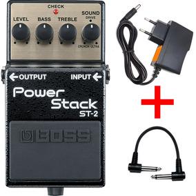 Pedal Boss St 2 Power Stack Loja St2 + Brindes Loja Kadu Som