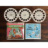 View Master Pájaro Loco Andy Panda Chilly Willy Discos 1964