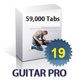 Combo De 59,000 Tablaturas Y Ejercicios Para Guitar Pro