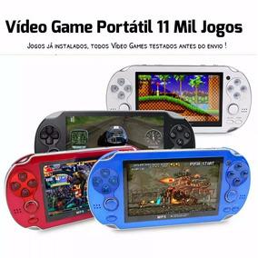 Mini Game Portátil 10mil Jogos + Mil Jogos Brinde Psp 11mil