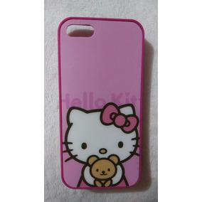 Funda Iphone 5 5s Hello Kitty Lila