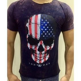 Camisa Camiseta Marca Hollister Algodão Lavada Estonada ba0a5b4b3fe
