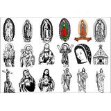 Pack Vectores Religiosos Sublimacion Corte Vinil 120 Diseños