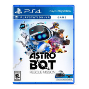 Astro Bot Rescue Mission Vr - Ps4 Fisico Nuevo & Sellado