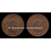 Islandia, 2 Monedas De 50 Aurar Distintas