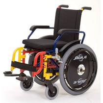 Cadeira De Rodas Ágile Infantil Manual Jaguaribe