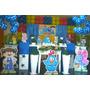 Kit Galinha Pintadinha Decoração Festa Completa Totem Mdf