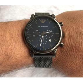 aa879b2efaa Relógio Emporio Armani Ar0552 Novo Na Caixa Maravilhoso - Relógios ...