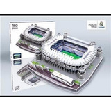 Rompecabezas 3d Estadio Santiago Bernabeu Real Madrid
