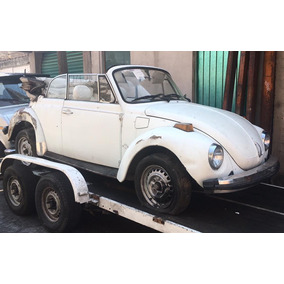 Vw Convertible Super Bettle 1977 / Vocho Convertible