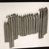 Mini Torno Ferramentas Soldadas 10mm X 10mm Kit 20pçs_ Kit