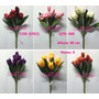 Kit 6 Flores Artificiais Tulipa 40cm Pronto Entregam