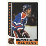 Tarjetas Deportivas Hockey Paul Coffey 5