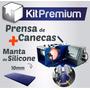Prensa De Caneca + Manta Acrilica Para Laser Ou Sublimação