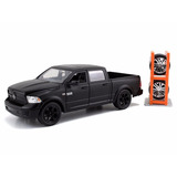 Mini Dodge Ram 1500 C/ Rodas Extras Just Trucks 1:24 Jada