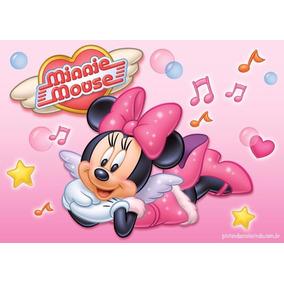 Painel Em Lona Minnie Rosa 2,00x1,40 Maravilhoso!