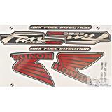 Kit Faixa Adesivo Fan Cg Mix 150 Esdi Preta 2012