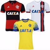 Camisa Do Flamengo Kit Camisetas Oficiais Promoção 2017