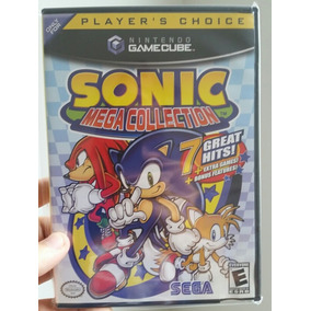 Jogo Sonic Mega Collection Gamecube Original Americano Compl