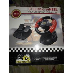 Volante Steering Wheel Ps2