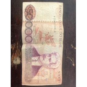 Nota 50000 Cruzeiros Do Osvaldo Cruz