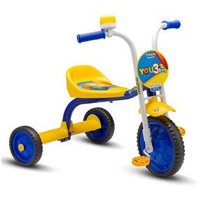 Triciclo 3 Rodas Bicicleta Infantil Kid Nathor Menino/menina