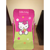 Silla Reposera De Hello Kitty Infantil