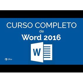 Curso En Video Word - Todas Las Versiones ¡checa El Temario!