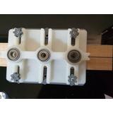 Centrador De Tarugos 8mm Madera Profesional C/6 Rodamientos