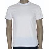 10 Camisa Lisa Pv Malha Fria. Branca Camisa Uniforme
