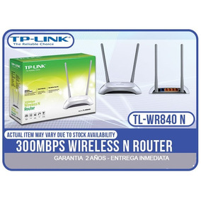 Router Wifi Tp-link Tl-wr840n 300 Mbps Inalambrico Wireless