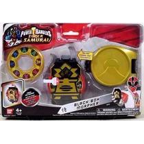 Morfador Power Rangers Super Samurai Black Box Bandai- Sunny